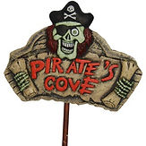 Pirates Cove Sign