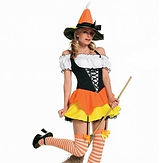 Leg Avenue Candy Corn Witch