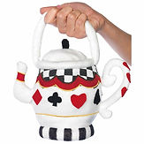 Alice in Wonderland Teapot Bag
