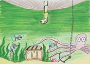 Treasure Hunting Illustration