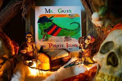 Mr. Green the Pirate Iguana