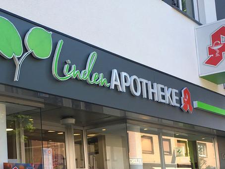 Die Linden APOTHEKE erstrahlt in neuer Frische
