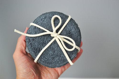 Abschminkpads aus Bio-Baumwolle 5Stk