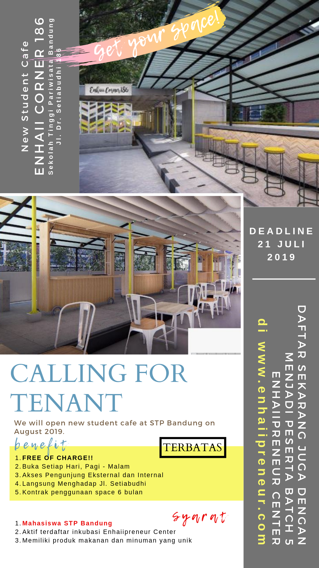 Call for Tenant