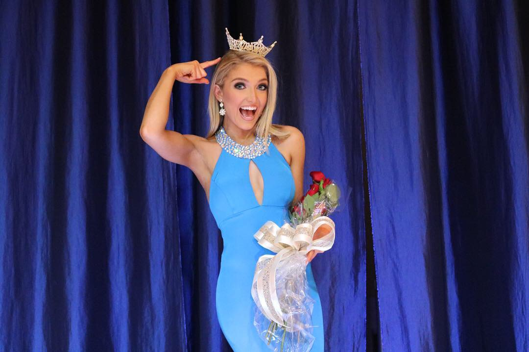 After winning Miss Greenville County