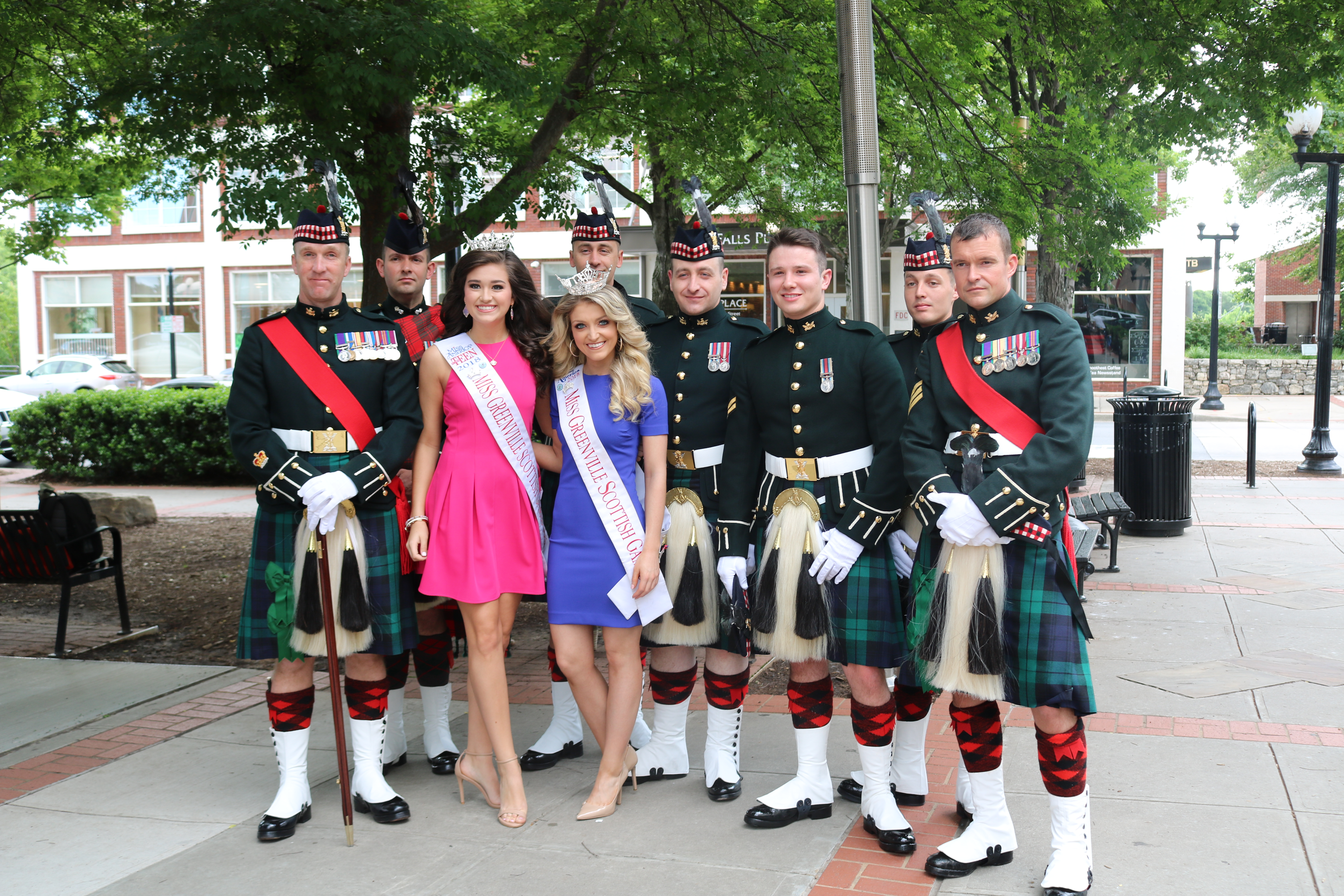 With the Royal Highland Fusiliers