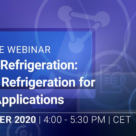 PDA Europe Webinar - Future of Refrigeration, 12.11.20
