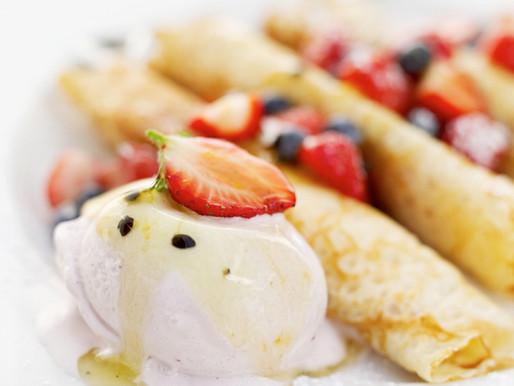 Crepes saladas y dulces (Sin: trigo, lácteos, huevo, soja, látex, sulfitos)