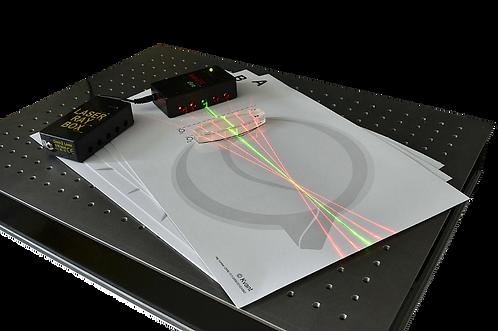TP Optique géométrique multi-Lasers