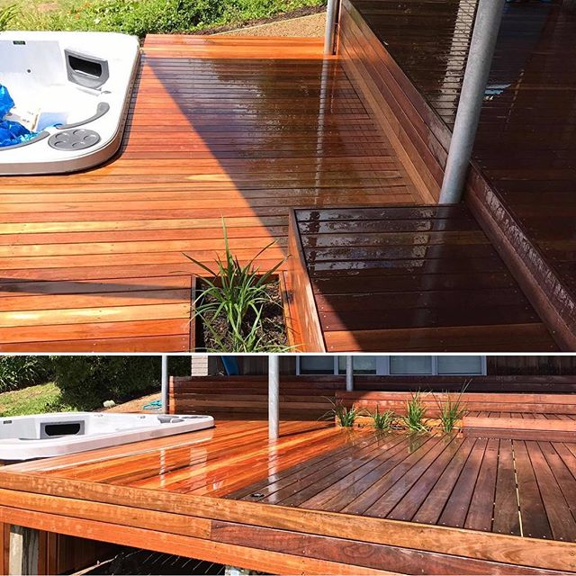 Blairgowrie Spotted gum decking