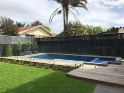 Pool Decking, Frameless Glass Fence