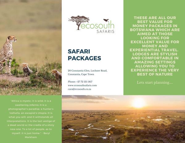 Copy of Safari Packages - Safari Club (2