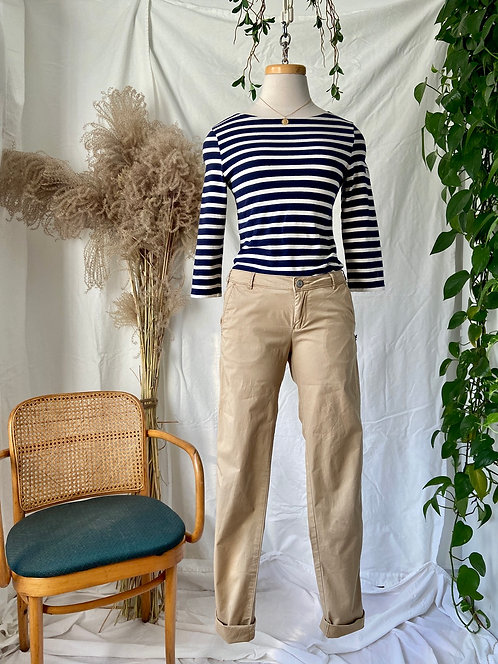 Marinière Saint-James & Cargo Maison Scotch