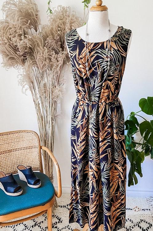 Robe Taille Plus & Veste de lin