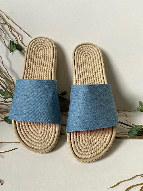 Sandales slip-on denim