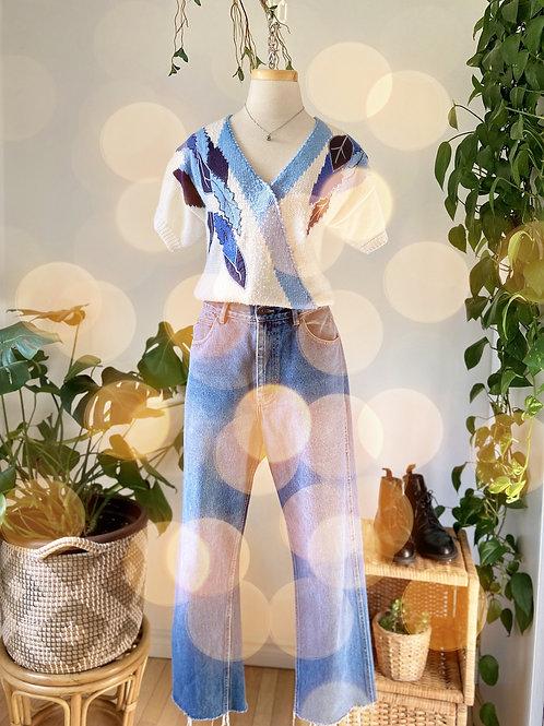 Tricot vintage & Oldie jeans