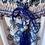 Thumbnail: Mme Kalo  | Robe longue imprimée paons