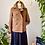 Thumbnail: À Londre | Magnifique Manteau de Laine & Jupe et Haut noir