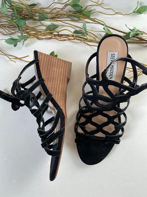 Sandales talon compensé