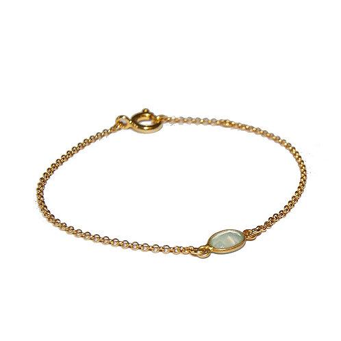 Armband Kassandra CHG 17/18.5cm ( 3 Mikron)
