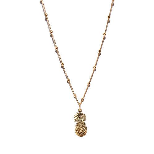 Halskette Pineapple 42-47cm (3 Mikron)