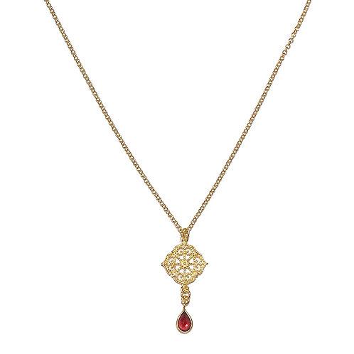 Halskette Fiala 43cm (3 Mikron)