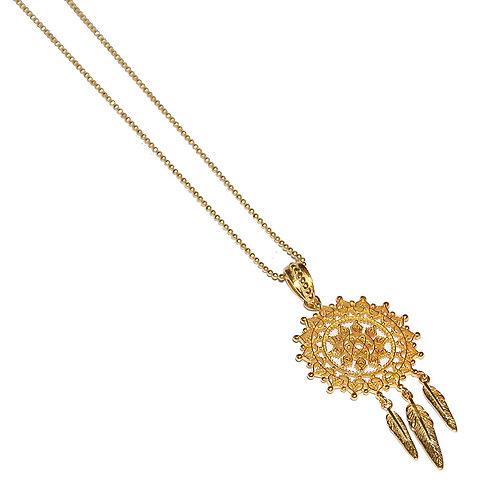 Halskette Dreamy 90cm ( 3 Mikron)