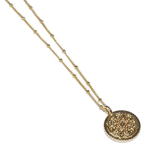 Halskette Myla 50cm ( 3 Mikron)