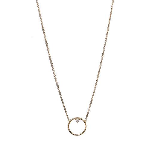 Halskette Mirian 42/45cm (3 Mikron)