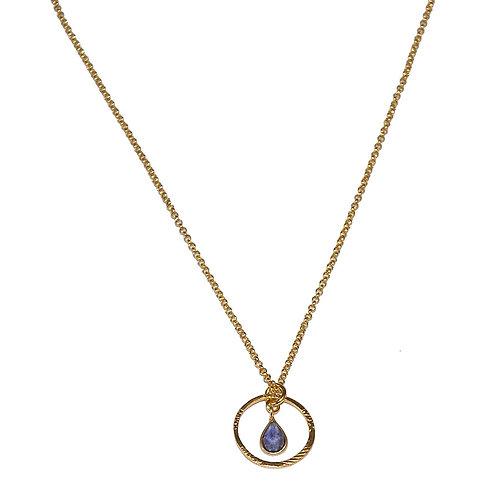 Halskette Elfi IO 45cm (3 Mikron)