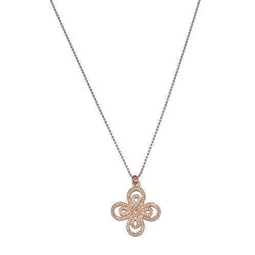 Halskette Fiorella 70cm (3 Mikron)