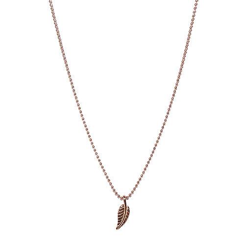 Halskette Leaf RG 42cm (5 Mikron)