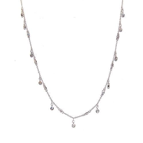 Halskette Hale 34-40cm Silber