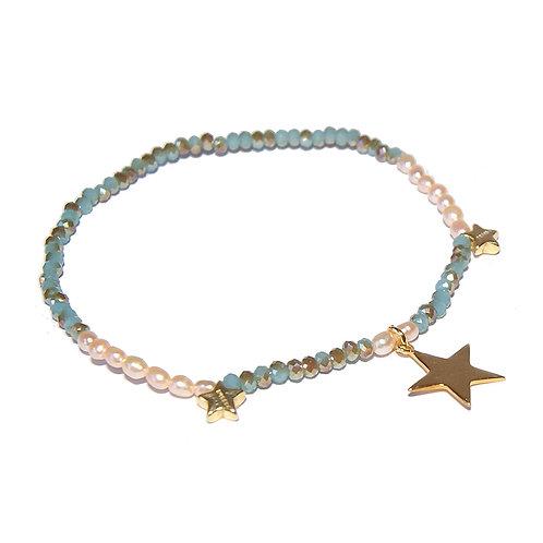Armband Estrella 18.5 cm ( 3 / 5 Mikron )