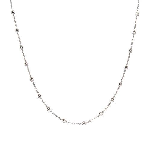 Halskette Hey 42cm Silber