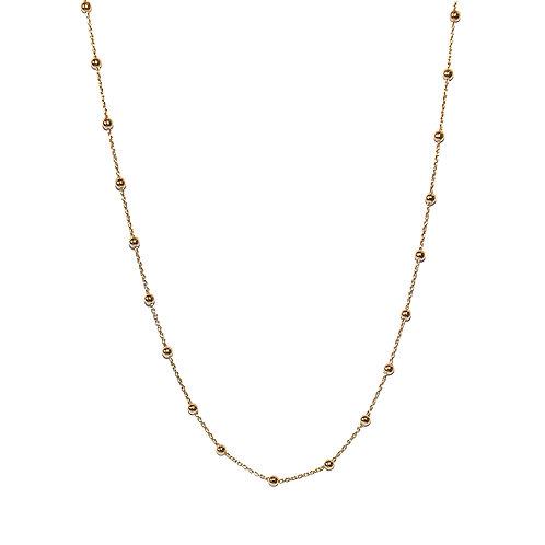 Halskette Hey 42cm GG (3 Mikron)