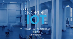 Image source : Nordic IoT week website