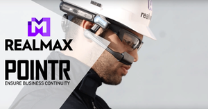 AR glasses provider Realmax and Delta Cygni labs, the creator of POINTR remote collaboration solution, join forces.