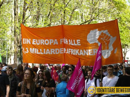 Europa für Alle: false-flag Aktion auf linker Demo