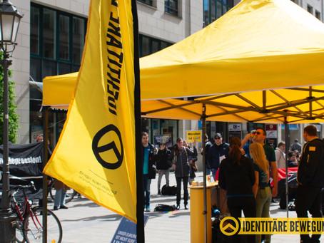"""Identitäre Zone zum """"Europatag"""" in München"""