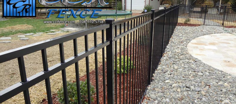 Black-Pool-Code-Compliant-Fence-around-a