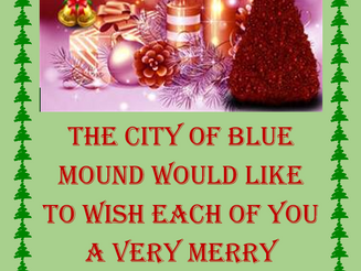 12/10/16 ~ City of Blue Mound Christmas Parade / Happy Holidays!