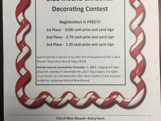 *Christmas Decorating Contest*