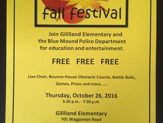 10/26/17- Fall Festival