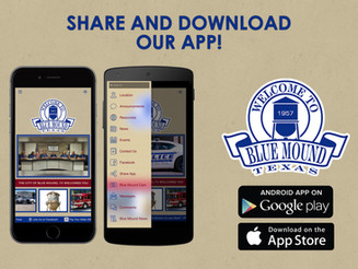 Download our Blue Mound App!