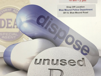 04/29/17 ~ RX - Unused Drug Disposal