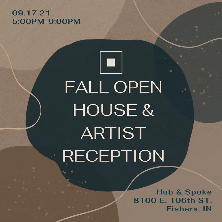 Fall Open House & Artist Reception