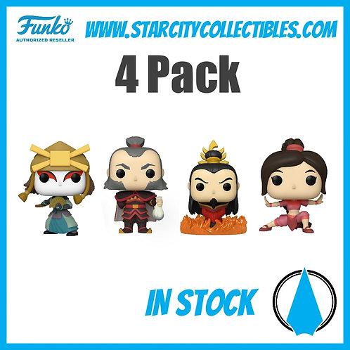 4 Pack Avatar Funko Pop