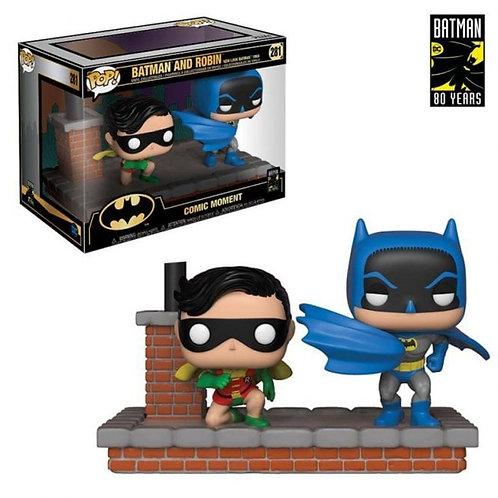 Comic Moment - Batman and Robin
