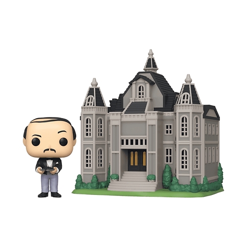 POP Town: Batman- Alfred Pennyworth with Wayne manor